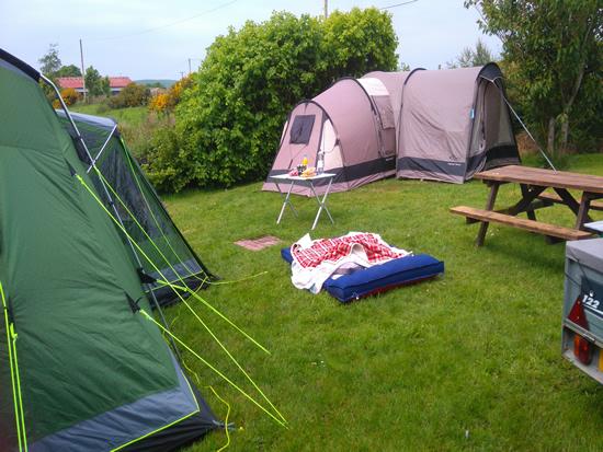 camping hornsea