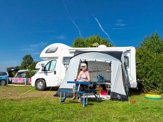 motorhome campsite